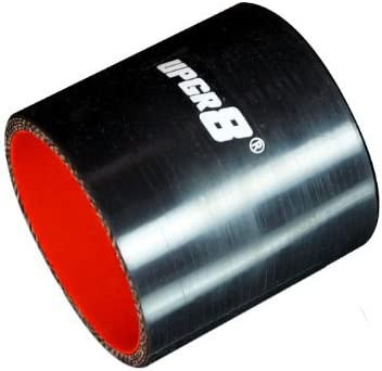 45MM 1.75 , Red Upgr8 Universal 4-Ply High Performance Straight Coupler Silicone Hose 76mm Length