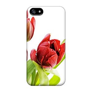High Quality OgvpTko5050bOWnF Tulip Flowers 28 Case For Iphone 5/5s