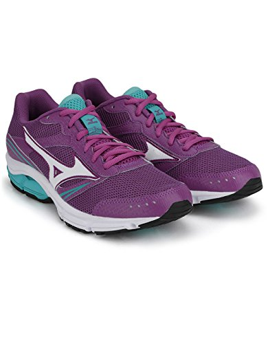 Mizuno Shoes Running Officially Wave Impetus 3 WOS J1GF151301 Viola Bianco Verdone Size 40.5 SHIPPED FROM ITALY