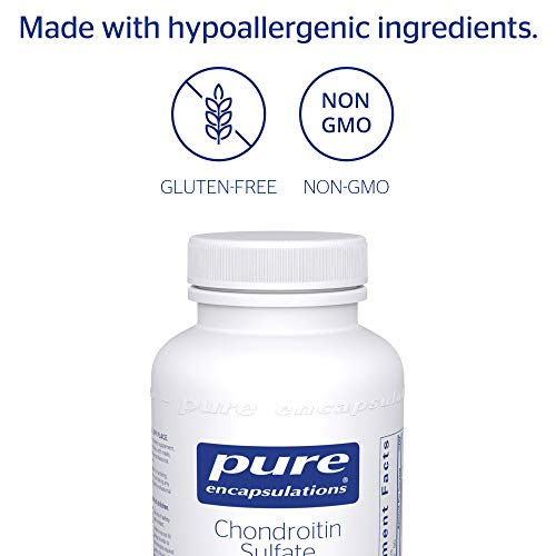 Pure Encapsulations - Chondroitin Sulfate (Bovine) - Hypoallergenic Support for Healthy Cartilage and Joints* - 180 Capsules by Pure Encapsulations (Image #3)