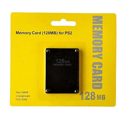 - Memory Card for Playstation 2, 128MB High Speed Memory Card for Sony PS2 (1 Pack)