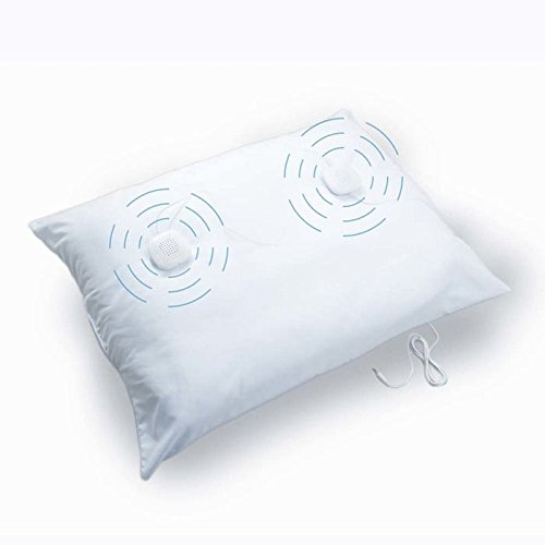 Image of Sound Oasis Sleep Therapy Pillow with Volume Control Speakers