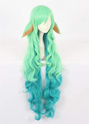 Amazoncom 43110cm Long Wavy Curly Cosplay Costume Wigs Heat