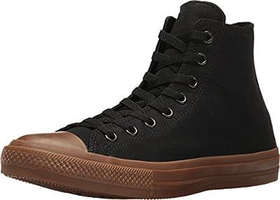 Converse Mens All Star Hero Chuck II Hi Sneaker (3 D(M) US, Black/Gum)