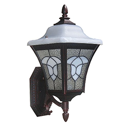 Outdoor Wall Light Stained Glass in US - 6