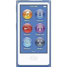 Apple iPod Nano 16GB Blue (8th Generation) MKN02LL/A (Certified Refurbished)