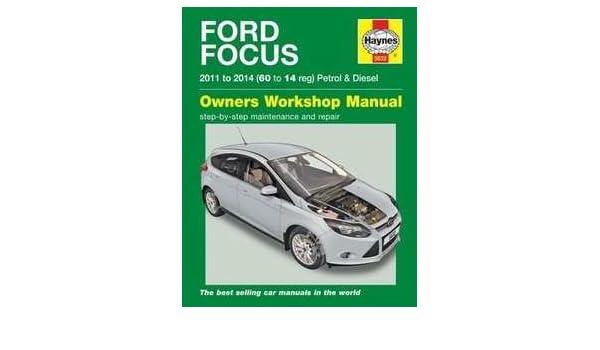 FORD FOCUS manuel Haynes Manuel de réparation Atelier Service manuel manuel 2011-2014: Amazon.es: Coche y moto