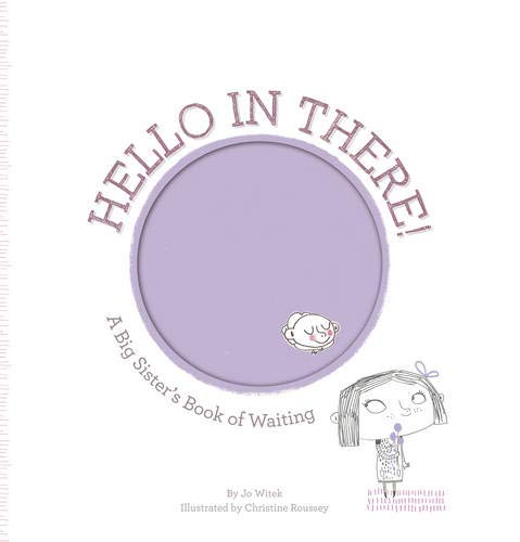 Blu Infant Bib - Hello in There!: A Big Sister's Book of Waiting (Growing Hearts)