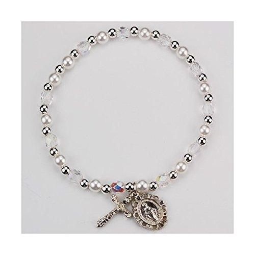Catholic Girls Communion Stretch Bracelet product image