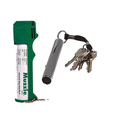 Mace Muzzle Pepper Spray and an Electronic Safety Whistle PLUS Bonus - Lot of 2 as Shown (Spray Muzzle)