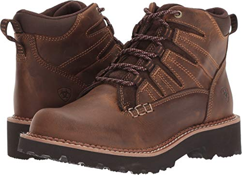 Ariat Women's Canyon II Hiking Shoe, Distressed Brown, 6 C US