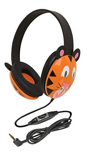 Califone 2810 TI Kids Stereo and PC Headphones Tiger Design