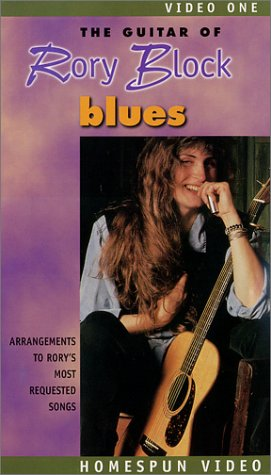 The Guitar Of Rory Block Vol 1- Blues - Vol Guitar 1 Vhs