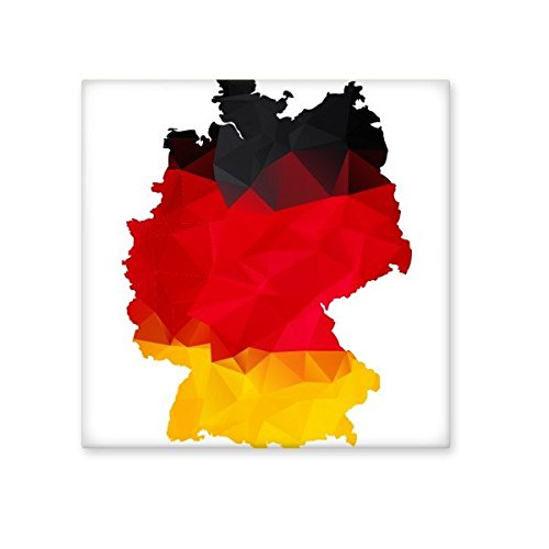 80%OFF Germany National Flag Map Country Graffiti Illustration Pattern Ceramic Bisque Tiles for Decorating Bathroom Decor Kitchen Ceramic Tiles Wall Tiles