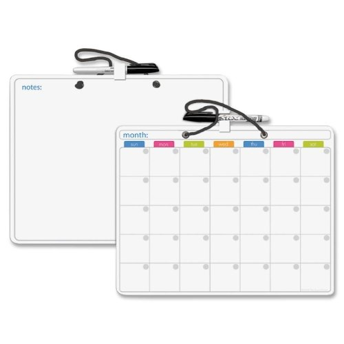 Board Dudes Double-Sided Dorm Size Dry Erase Board