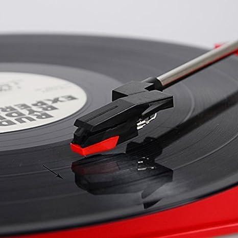 Feir - Mesa giratoria de vinilo estéreo: Amazon.es: Instrumentos ...