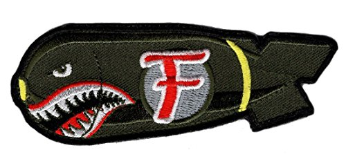 Dropping F Bomb WW 2 Style Tactical morale Hook Patch by Miltacusa