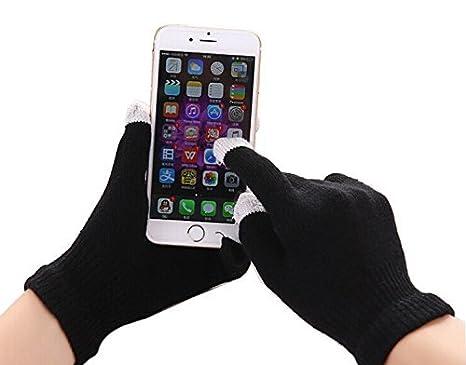 I-Sonite (schwarz Universal Unisex One Size Winter-Touchscreen Handschuhe für Blackview BV5000