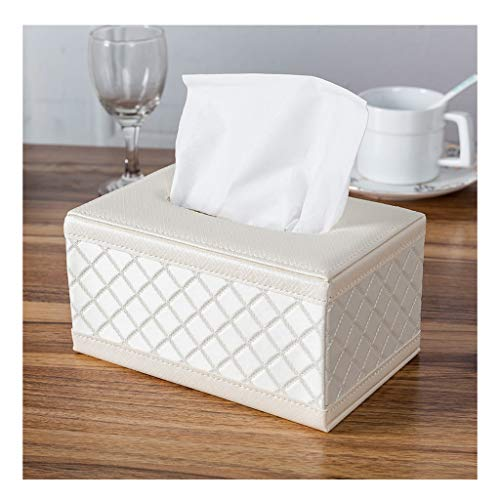 YANG Tissue Box Bedroom Car with Napkin Tray Household Tray Living Room (Color : F-S) (Fs Tissue Holder)