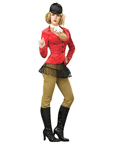 Equestrienne Costume Horse Rider Jockey Mount Womens Theatrical Costume Sizes: Small