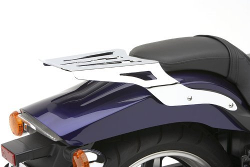 (08-14 YAMAHA XV19CS: Cobra Formed Solo Luggage Rack (CHROME))
