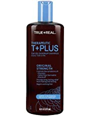 True+real Therapeutic Plus Tar Gel Dandruff Shampoo, 16 Fluid Ounce