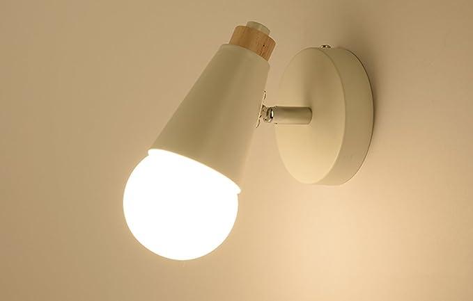 Lytsm lampada da parete lampada da parete semplice da letto a
