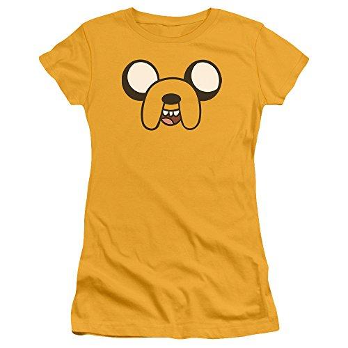 camiseta j Adventure Jake para mujeres Time Head 1TUUvwAzq