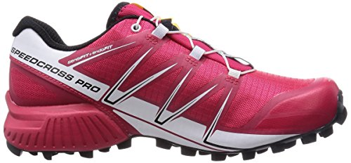 Salomon Ladies Speedcross Pro Scarpe Da Corsa Multicolore (loto Rosa / Bianco / Nero)
