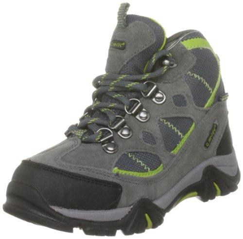 Hi Tec Renegade Trail WP JR HOH1098000 - Zapatillas de deporte de ante para niños Gris