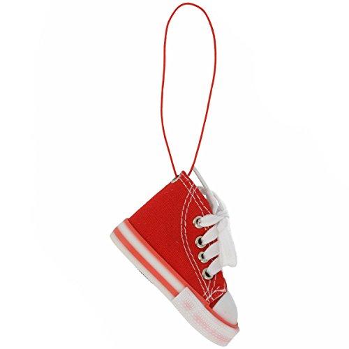 Luft-Erfrischer Aroma Mini Diffuser Luft-Befeuchter mit Form von Sneaker praktisch für Wohnung und Auto (Rot)