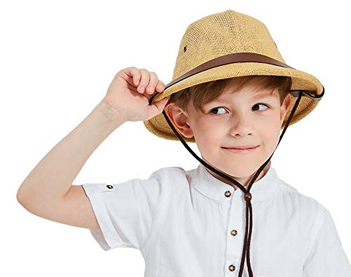 kainozoic Pith Helmet Kids Costume Halloween Party