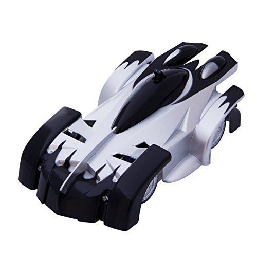 Tonor-4CH-Coche-de-Juguete-de-Control-Remoto-RC-Escalar-la-Pared-Trepador-Cohete-coche-de-juguete-de-carrera-Negro