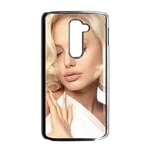 Angelina Jolie Design Pesonalized Creative Phone Case For LG G2
