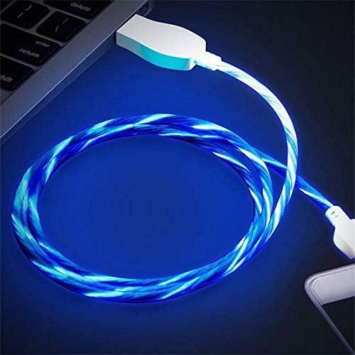 FidgetGear LED Luminous USB Cable for Android Green