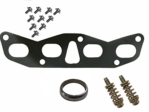 Exhaust Manifold Gaskets Flange Down Pipe Hardware Bolts Fits Nissan Altima 2.5L
