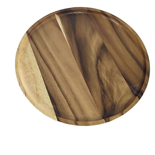 Acacia Round Wood Trays 10