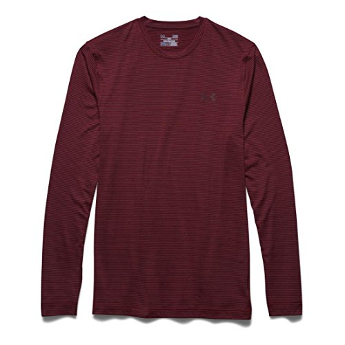 Under Armour Lightest Warmest Cgi Crew - Camiseta de compresión de running para hombre Red/Deep Red