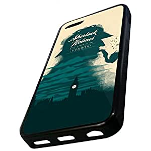 iPhone Case, Sherlock Cell Phone Case (ipod touch 4 touch 4 (Black)
