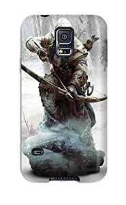 Best Tpu Phone Case With Fashionable Look For Galaxy S5 - Ratonhnhaketon Assassin's Creed 3 6686904K29099971