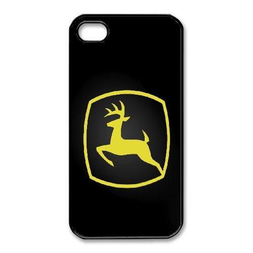 iPhone 4,4S Phone Case Black John Deere QY7996696