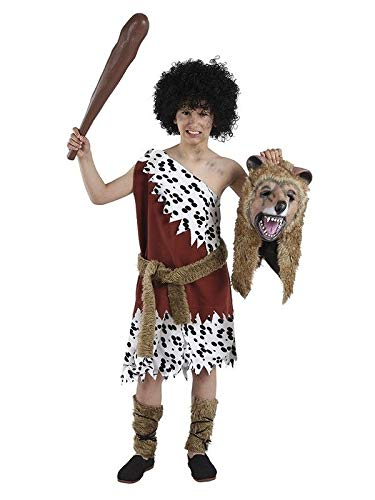 DISBACANAL Disfraz de troglodita niño - -, 10 años: Amazon.es ...