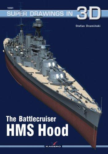 The Battlecruiser HMS Hood (Super Drawings in - Hood Battlecruiser