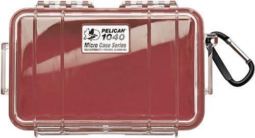 Pelican Micro Case Series Dry Boxes 1040, WL-WI-BK Case, Red 1040-005-170 by Pelican: Amazon.es: Deportes y aire libre