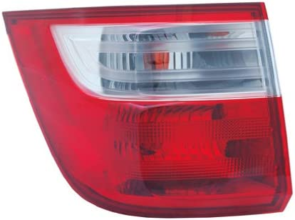 OE Replacement Honda Odyssey Left Tail Lamp Assembly CAPA Certified