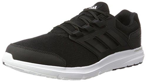 Adidas Mens Galaxy 4 M, Zwart / Wit Zwart