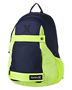 Hurley Honor Roll Pack - Mochila, color negro Midnight Navy/Volt Talla:47 x 34.5 x 23 cm: Amazon.es: Deportes y aire libre