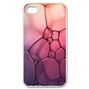 [Bubble Series] IPhone 4/4s Cases Bubbles 7, Case for Iphone 4s Cheap Kweet - White