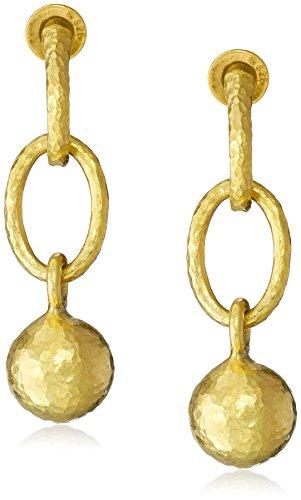 GURHAN Balloon Yellow Gold Ball Drop Earrings