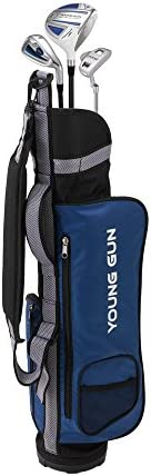 Young Gun ZAAP Eagle Junior Kid Golf Club Youth Set Bag